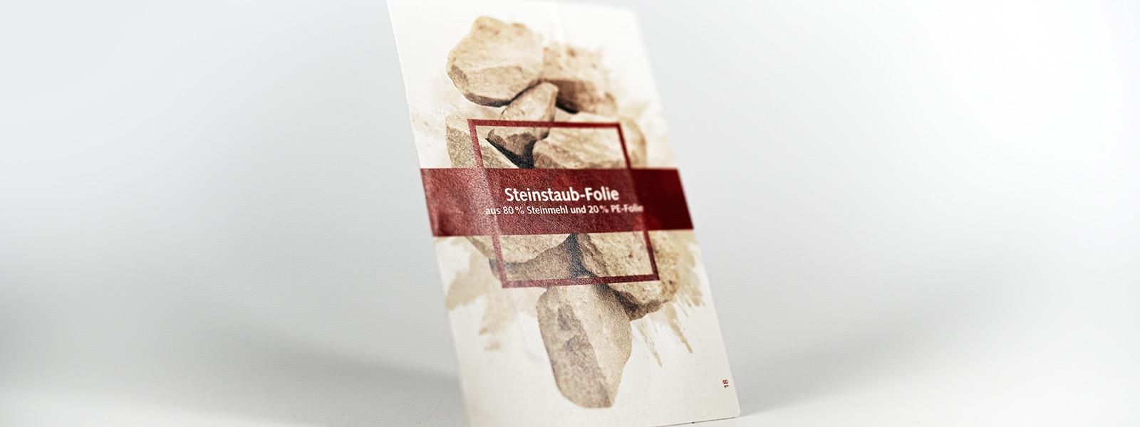 Steinpapier Etiketten: Nachhaltig und widerstandsfähig